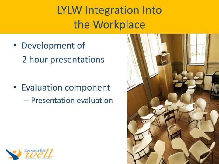 LYLW Integration Into