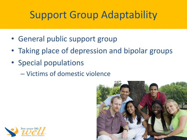 Support Group Adaptability