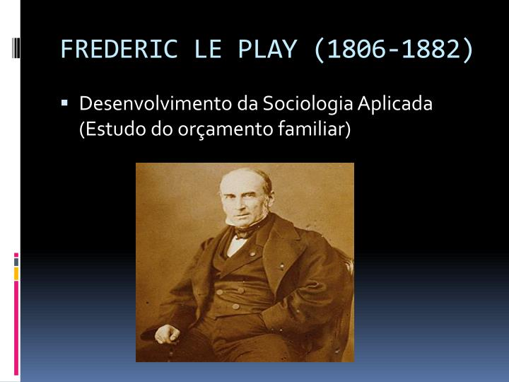 Frederic le play 1806 1882