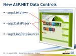 new asp net data controls