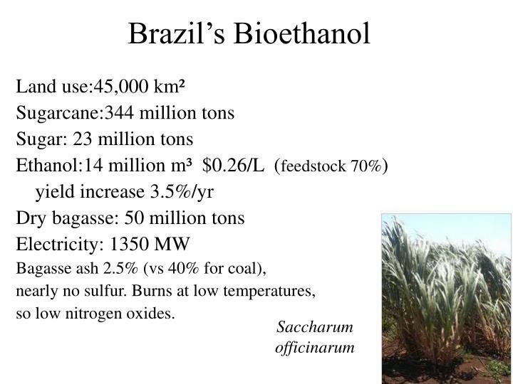 Brazil's Bioethanol