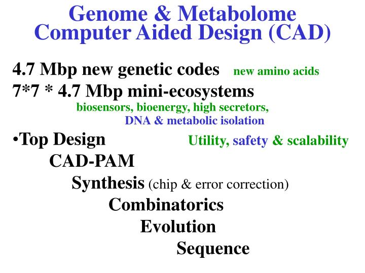 Genome & Metabolome