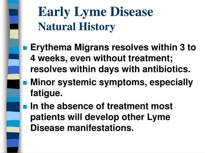Early Lyme Disease
