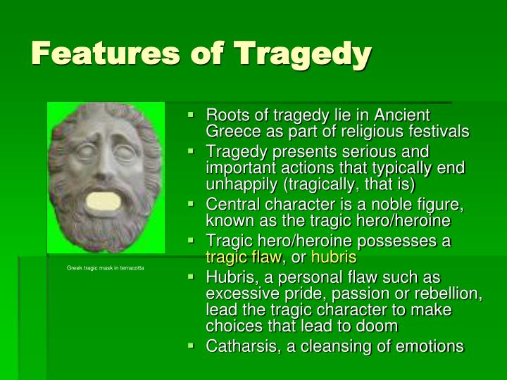 Features of Tragedy
