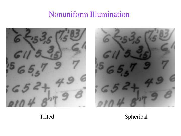 Nonuniform
