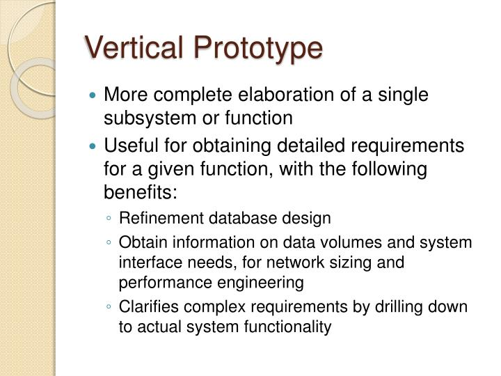 Vertical Prototype