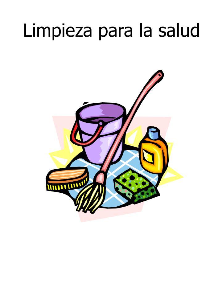 Limpieza para la salud