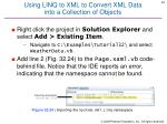 using linq to xml to convert xml data into a collection of objects
