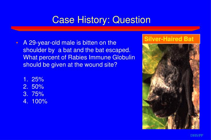 Case History: Question
