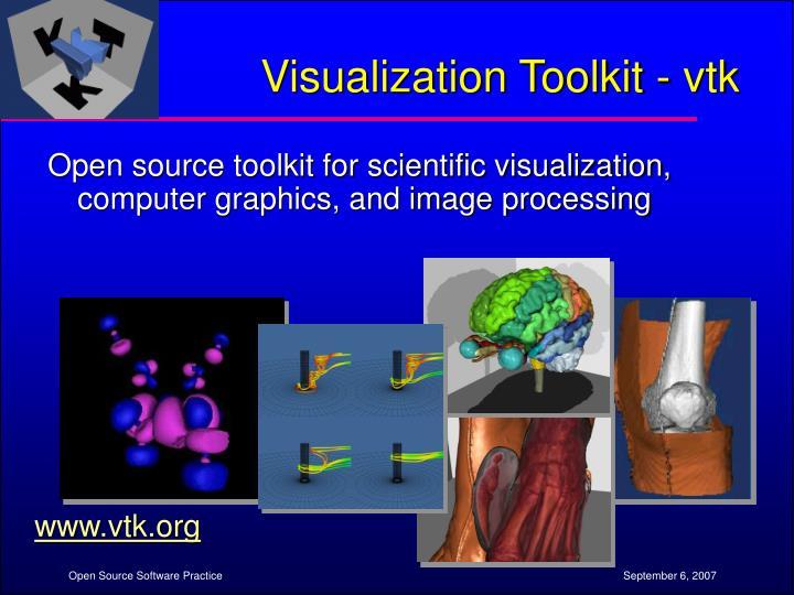 Visualization Toolkit - vtk