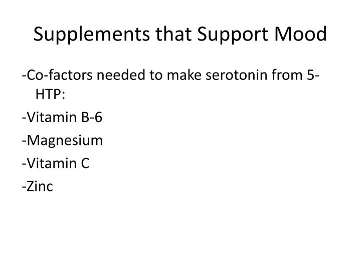 Supplements that Support Mood