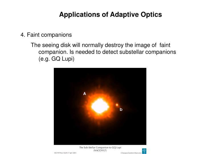 Applications of Adaptive Optics