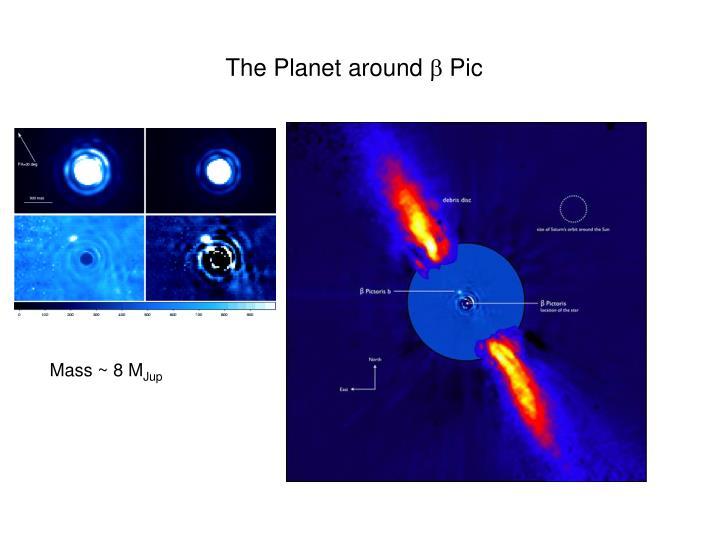 The Planet around