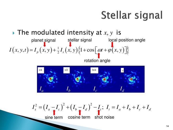Stellar signal