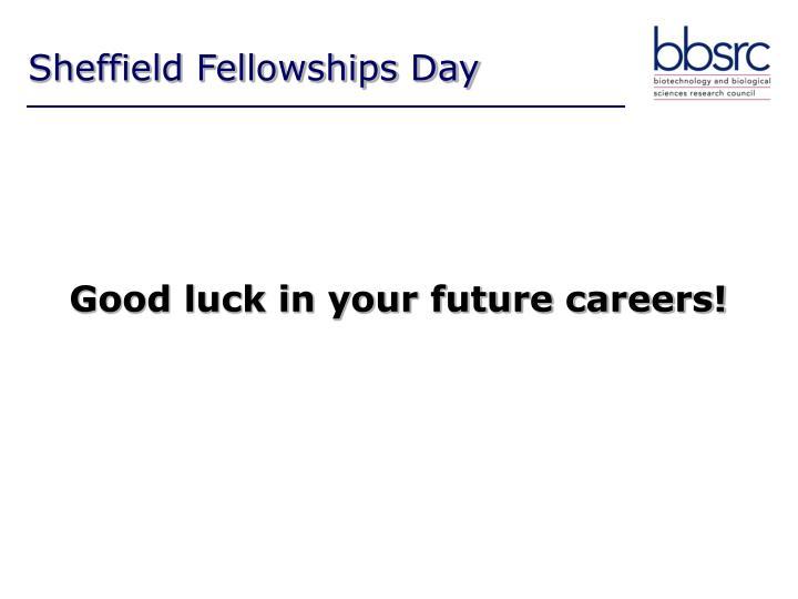 Sheffield Fellowships Day