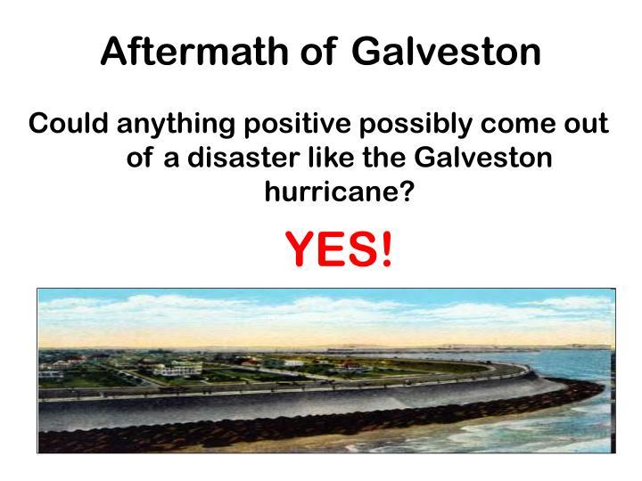 Aftermath of Galveston