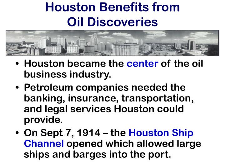 Houston Benefits from