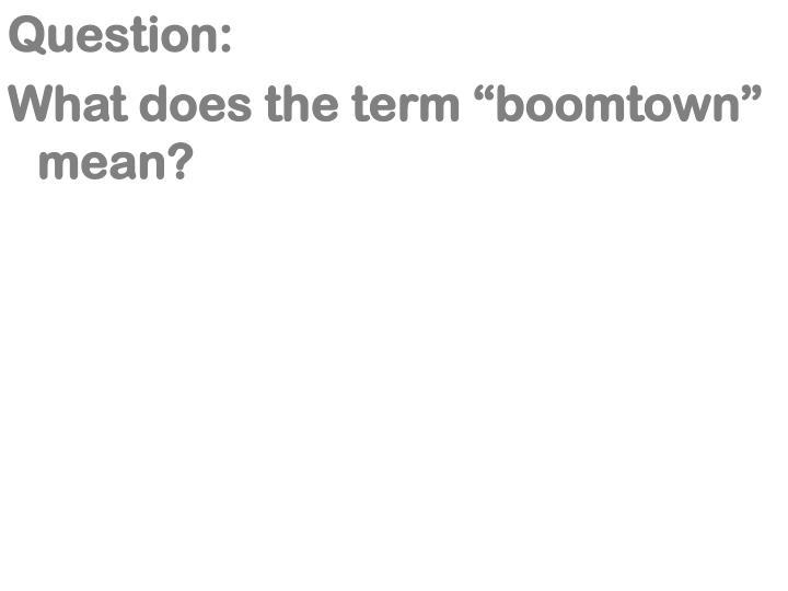 Question: