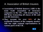 a association of british insurers
