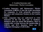 c london insurance and reinsurance market association
