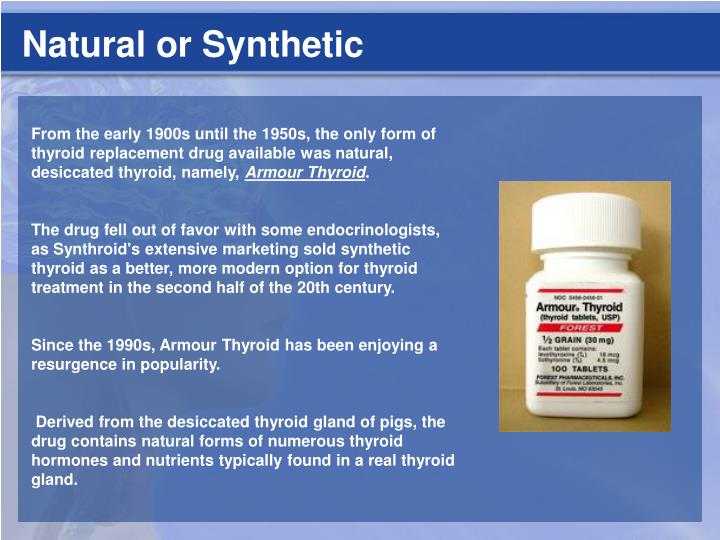 Natural or Synthetic