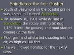 spindletop the first gusher