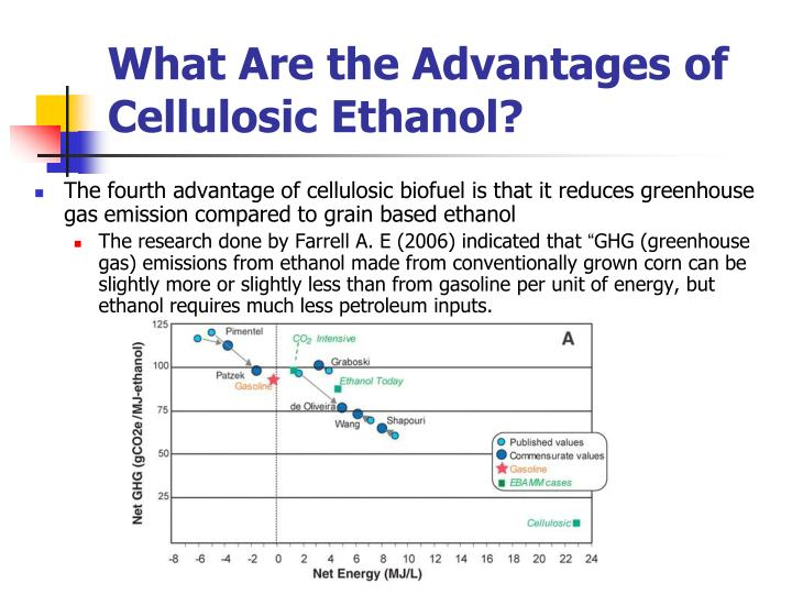 What Are the Advantages of Cellulosic Ethanol?