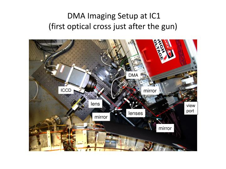 DMA Imaging Setup at IC1