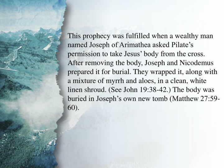 I. The Gospel of Jesus Christ (B)