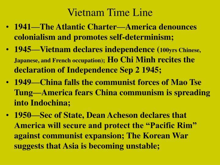 Vietnam Time Line