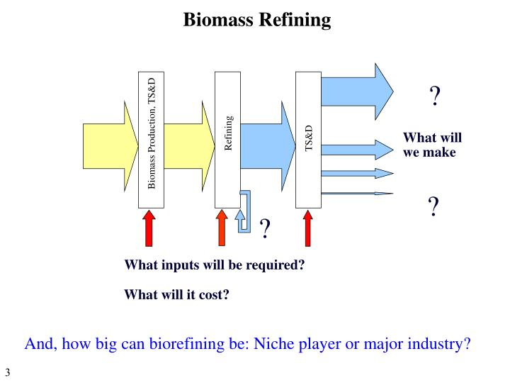 Biomass Refining