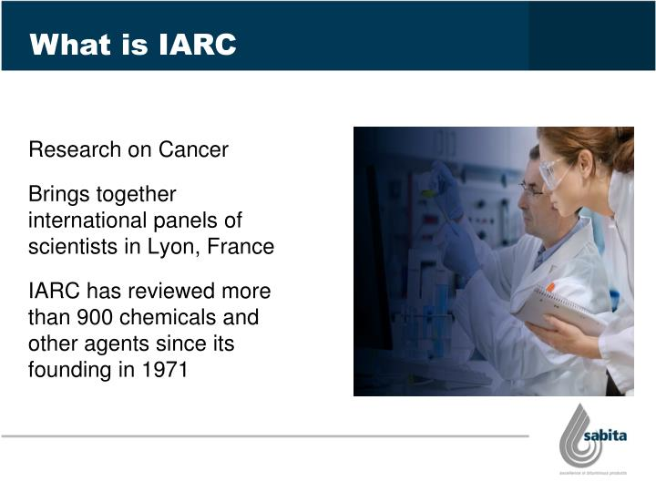 What is IARC