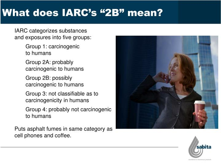 """What does IARC's """"2B"""" mean?"""