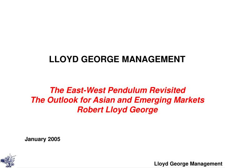LLOYD GEORGE MANAGEMENT