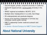 about national university