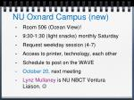 nu oxnard campus new