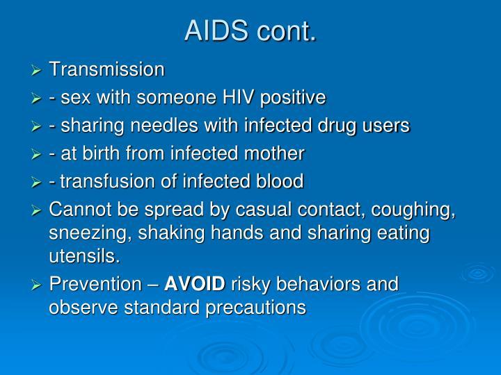 AIDS cont.