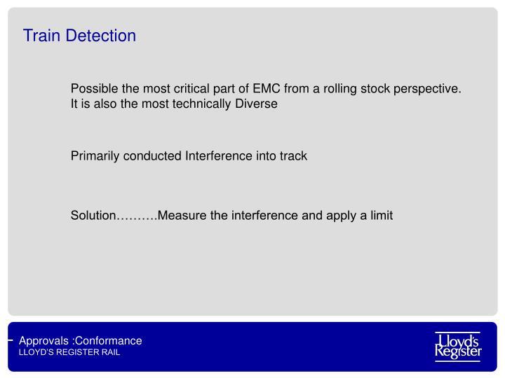 Train Detection