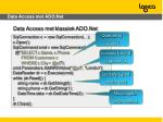 data access met ado net
