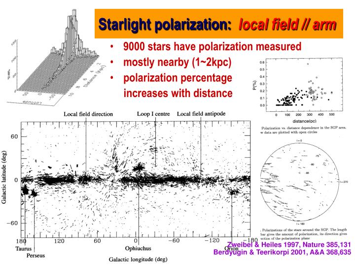 Starlight polarization: