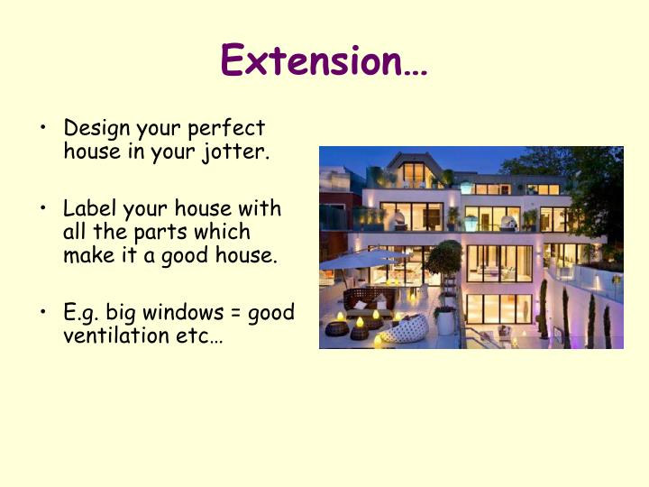 Extension…