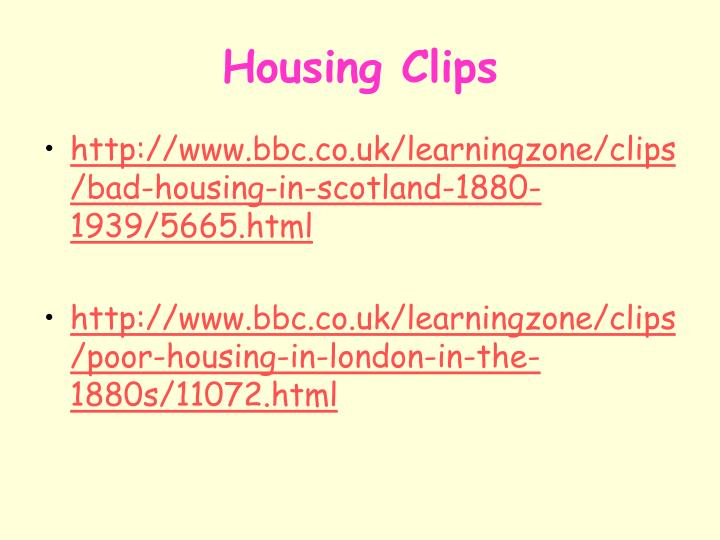 Housing Clips