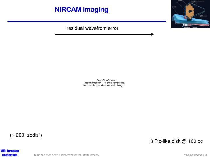 NIRCAM imaging