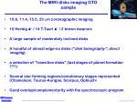 the miri disks imaging gto sample