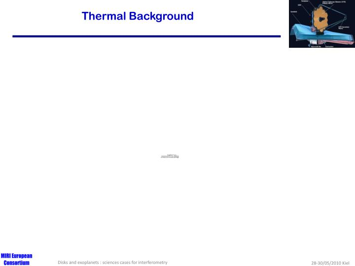 Thermal Background
