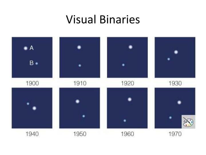 Visual Binaries