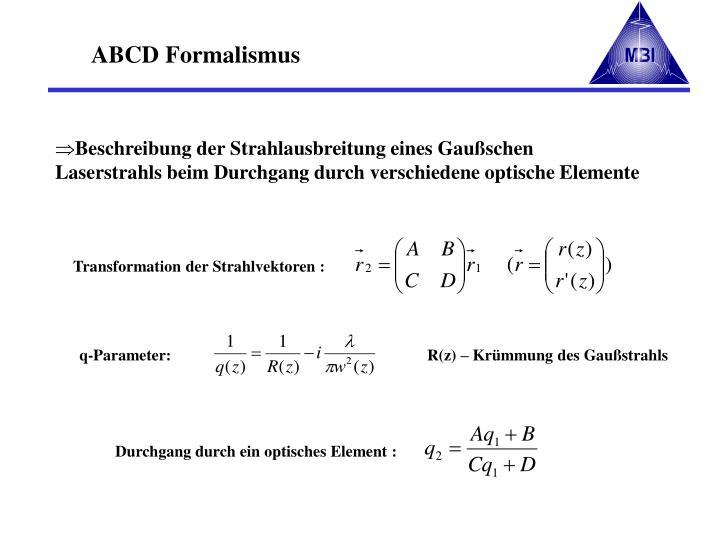 q-Parameter: