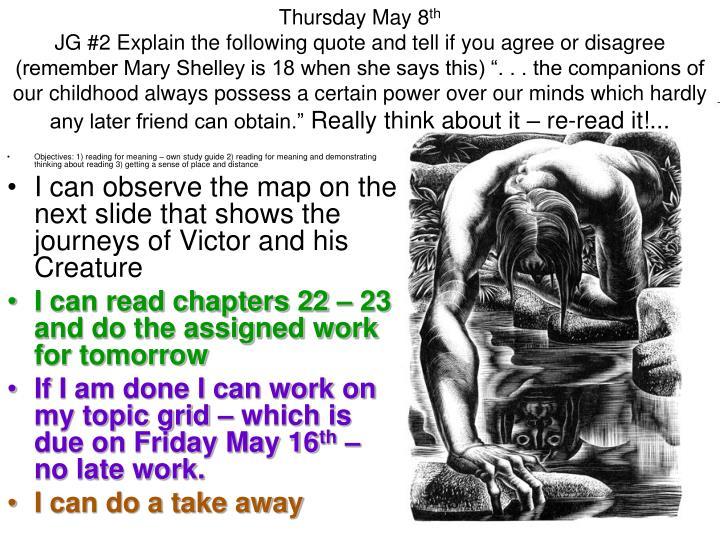 Thursday May 8