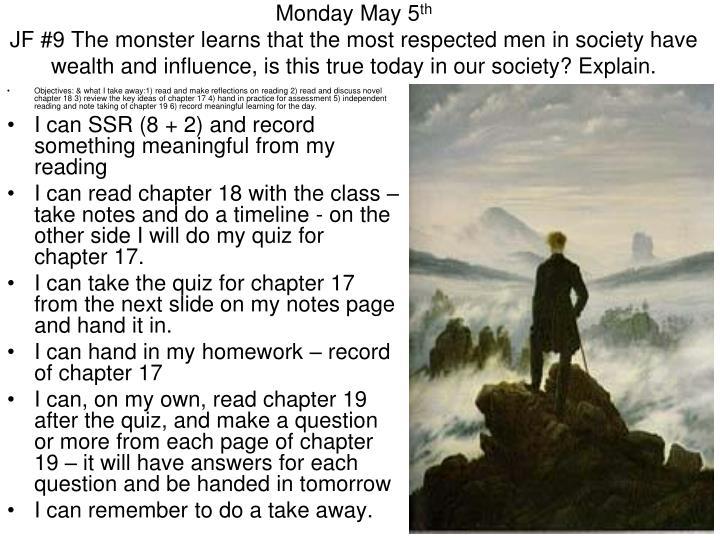 Monday May 5