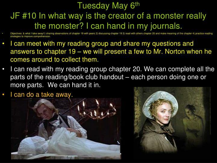 Tuesday May 6